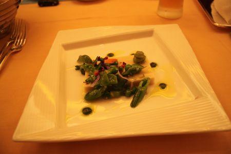 カリフォルニア料理レストラン「エンパイア・グリル」アンバサダーディナー