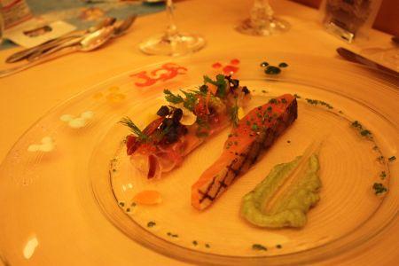 カリフォルニア料理レストラン「エンパイア・グリル」エンパイアディナー