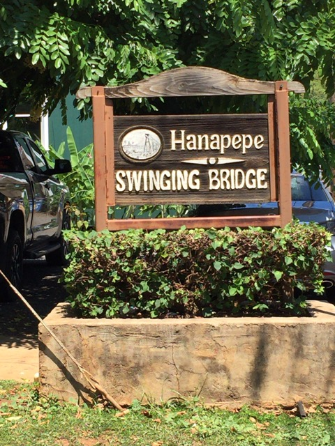 Hanapepe Swinging Bridge