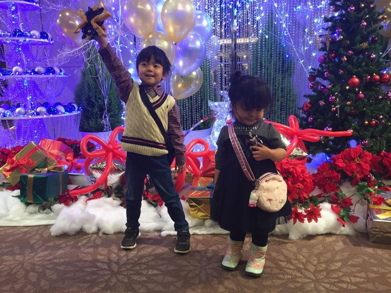 ウルトラヒーロー クリスマスファミリーブッフェ 2015